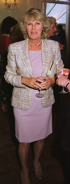 MRS CAMILLA PARKER BOWLES  at a party in London on 17th June 1999.<br /> MTK 48