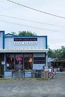 Basket Case wine bar in Pacific City, Oregon.