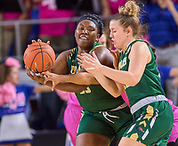 UAB Blazers forward Zakyia Weathersby (55) during the UAB Blazers at Middle Tennessee Blue Raiders college basketball game in Murfreesboro, Tennessee, Thursday, February, 20, 2020.<br /> Photo: Harrison McClary/All Tenn Sports