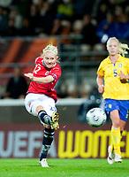 Fotball<br /> Semifinale EM kvinner 2009<br /> 04.09.2009<br /> Sverige v Norge<br /> Foto: Jussi Eskola/Digitalsport<br /> NORWAY ONLY<br /> <br /> Cecilie Pedersen