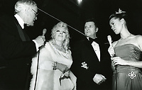1979 Mae West at the premiere of Hurricane at Mann's Chinese Theater