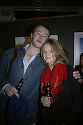 Edward Cazalet and Susy Cazalet, Hunter S Thompson: Gonzo -Michael Hoppen Gallery, London, SW3, Photographs of, and by Hunter Thompson.1 February 2007.  -DO NOT ARCHIVE-© Copyright Photograph by Dafydd Jones. 248 Clapham Rd. London SW9 0PZ. Tel 0207 820 0771. www.dafjones.com.
