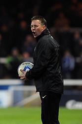 Peterborough United Manager, Darren Ferguson cuts a frustrated figure - Photo mandatory by-line: Dougie Allward/JMP - Mobile: 07966 386802 11/03/2014 - SPORT - FOOTBALL - Peterborough - London Road Stadium - Peterborough United v Bristol City - Sky Bet League One