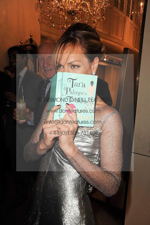 TARA PALMER-TOMKINSON at a party to celebrate the publication of Inheritance by Tara Palmer-Tomkinson at Asprey, 167 New Bond Street, London on 28th September 2010.