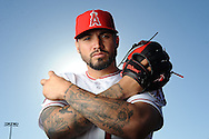 ///ADDITIONAL INFO:   <br /> <br /> angels.0226.kjs  ---  Photo by KEVIN SULLIVAN / Orange County Register  --  2/26/16<br /> <br /> The Los Angeles Angels of Anaheim - Photo Day<br /> <br /> 2016 Spring Training at the Tempe Diablo Stadium complex Friday February 26, 2016 in Tempe, Arizona.<br /> <br /> <br />  2/26/16