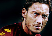 Francesco Totti (Roma)<br /> Roma vs Basel  1-3<br /> Champions League<br /> Stadio Olimpico, Roma, 19/10/2010<br /> Photo Antonietta Baldassarre Insidefoto