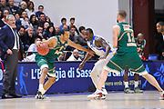 DESCRIZIONE : Eurocup 2014/15 Last32 Dinamo Banco di Sardegna Sassari -  Banvit Bandirma<br /> GIOCATORE : Sammy Mejia<br /> CATEGORIA : Palleggio Controcampo<br /> SQUADRA : Banvit Bandirma<br /> EVENTO : Eurocup 2014/2015<br /> GARA : Dinamo Banco di Sardegna Sassari - Banvit Bandirma<br /> DATA : 11/02/2015<br /> SPORT : Pallacanestro <br /> AUTORE : Agenzia Ciamillo-Castoria / Luigi Canu<br /> Galleria : Eurocup 2014/2015<br /> Fotonotizia : Eurocup 2014/15 Last32 Dinamo Banco di Sardegna Sassari -  Banvit Bandirma<br /> Predefinita :