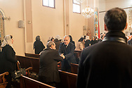 Turkey, Istanbul: People attending the Sunday morning service at the Samatya kilisesi (church) in Istanbul's Fatih neighbourhood. The congregation is divese, including Syrian, Armenian, Lebanese and Turkish citizens.