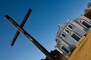 Sao Romao_MG, Brasil...Igreja Nossa Senhora do Rosario em Sao Romao...The Nossa Senhora do Rosario church in Sao Romao...Foto: LEO DRUMOND /  NITRO