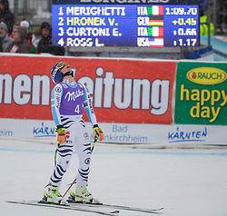 11.01.2015, Franz Klammer Weltcupstrecke, Bad Kleinkirchheim, AUT, FIS Ski Weltcup, Super G, Damen, im Bild Veronique Hronek (GER) // Veronique Hronek of Germanyreacts in the finish Area after her run of ladie's SuperG of the Bad Kleinkirchheim FIS Ski Alpine World Cup at the Franz Klammer Course in Bad Kleinkirchheim, Austria on 2015/01/11. EXPA Pictures © 2015, PhotoCredit: EXPA/ Mag. Gert Steinthaler