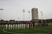 Cleveland State Soccer vs Akron Pre Game Line up.