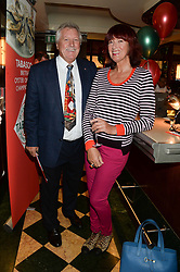 BRIAN TURNER and JANET STREET-PORTER at the Tabasco British Oyster Opening Championship 2013 at J Sheekeys, 28-35 St. Martins Court, London on 9th September 2013.