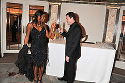DENISE LEWIS and STEVE FINAN at the 21st Cartier Racing Awards held at The Dorchester, Park Lane, London on 15th November 2011.