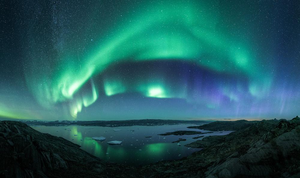 Auroars in East Greenland