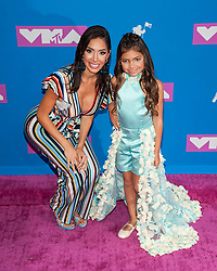 August 21, 2018 - New York City, New York, USA - 8/20/18.Farrah Abraham at the 2018 MTV Video Music Awards at Radio City Music Hall in New York City. (Credit Image: © Starmax/Newscom via ZUMA Press)