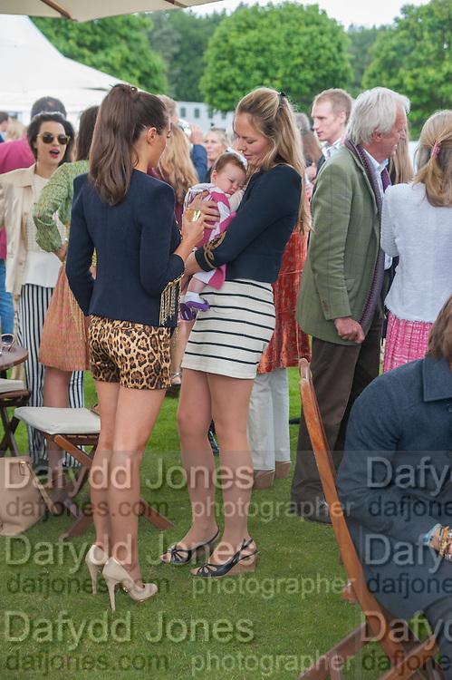 SASKIA BOXFORD; LOLA; TORY COOK, Cartier Queen's Cup. Guards Polo Club, Windsor Great Park. 17 June 2012