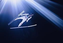 06.01.2020, Paul Außerleitner Schanze, Bischofshofen, AUT, FIS Weltcup Skisprung, Vierschanzentournee, Bischofshofen, Finale, im Bild Manuel Fettner (AUT) // Manuel Fettner of Austria during the final for the Four Hills Tournament of FIS Ski Jumping World Cup at the Paul Außerleitner Schanze in Bischofshofen, Austria on 2020/01/06. EXPA Pictures © 2020, PhotoCredit: EXPA/ JFK