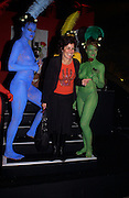 Ruby Wax, European premiere of Cirque de Soleil's Dralion, Royal Albert Hall and afterwards at the Natural History Museum, 8 January 2003.  .© Copyright Photograph by Dafydd Jones 66 Stockwell Park Rd. London SW9 0DA Tel 020 7733 0108 www.dafjones.com