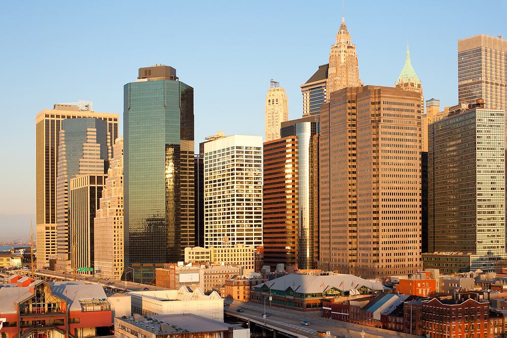 Financial District at downtown Manhattan, New York City, United States