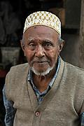 Portrait of a shopkeeper, Bhuj, Gujarat