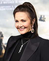 """Lynda Carter attends the premiere of """"12 Strong"""" at Jazz at Lincoln Center's Frederick P. Rose Hall in New York"""