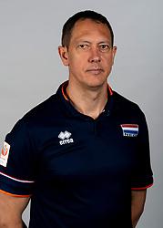 14-05-2018 NED: Team shoot Dutch volleyball team men, Arnhem<br /> Assistent coach Claudio Gewehr