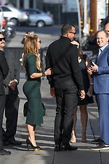 Jennifer Lopez and Alex Rodriguez at Kimmel - 2 Oct 2017