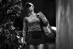 March 15, 2019 - Indian Wells, USA - Elina Svitolina of the Ukraine on her way to the court for her semi-final at the 2019 BNP Paribas Open WTA Premier Mandatory tennis tournament (Credit Image: © AFP7 via ZUMA Wire)