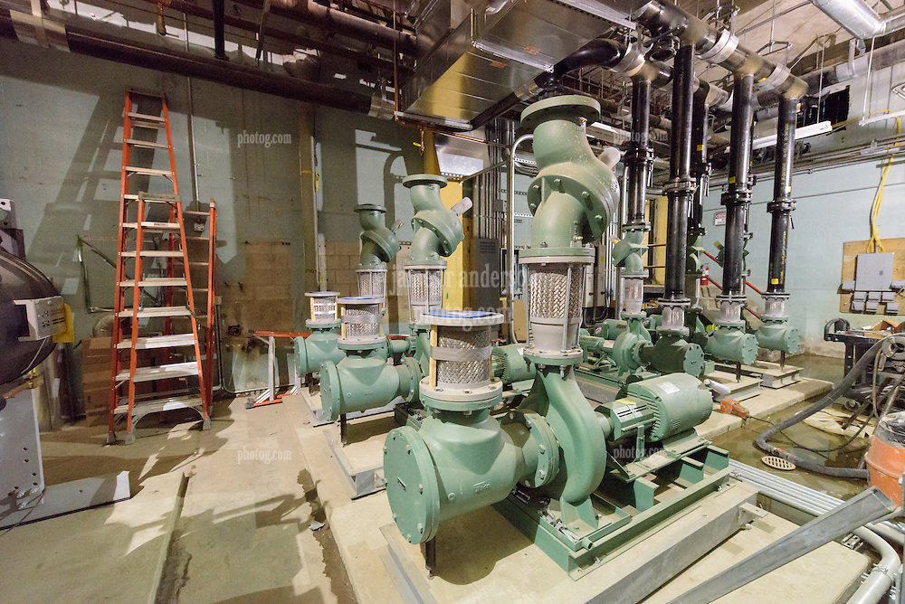 Central High School Bridgeport CT Expansion & Renovate as New. State of CT Project # 015-0174. Boiler Room. One of 84 Photographs of Progress Submission 11, 04 January 2016