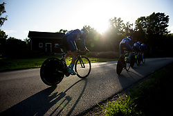 Lensworld Kuota at the Crescent Vargarda - a 42.5 km team time trial, starting and finishing in Vargarda on August 11, 2017, in Vastra Gotaland, Sweden. (Photo by Sean Robinson/Velofocus.com)
