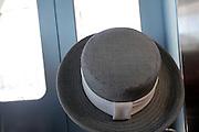 large round hat