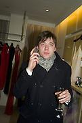 Max Thurlow, Make-A-Wish Charity Evening at Selfridges, Selfridges,  400 Oxford St. London. 17 December 2007. -DO NOT ARCHIVE-© Copyright Photograph by Dafydd Jones. 248 Clapham Rd. London SW9 0PZ. Tel 0207 820 0771. www.dafjones.com.