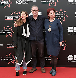Edinburgh International Film Festival, Thursday 22nd June 2017<br /> <br /> Juror's photocall<br /> <br /> Charity Wakefield, Matthew Turner, and Marina Richter<br /> <br /> (c) Alex Todd   Edinburgh Elite media