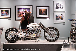 The Naked Truth exhibition at the Buffalo Chip gallery during the 75th Annual Sturgis Black Hills Motorcycle Rally.  SD, USA.  August 5, 2015.  Photography ©2015 Michael Lichter.