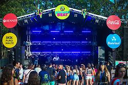 Fô durante a 25ª edição do Planeta Atlântida. O maior festival de música do Sul do Brasil ocorre nos dias 31 Janeiro e 01 de fevereiro, na SABA, praia de Atlântida, no Litoral Norte do Rio Grande do Sul. FOTO: <br /> Gustavo Granata/ Agência Preview