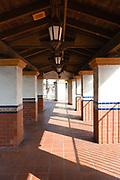 Walkway at Santa Ana Transportation Center
