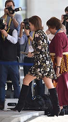 April 18, 2018 - London, London, United Kingdom - Prince Harry at Meghan Markle Attend CHOGM. QEII Centre. ..Prince Harry and Meghan Meghan Markle attend the Commonwealth Youth Forum reception during CHOGM in London. (Credit Image: © Pete Maclaine/i-Images via ZUMA Press)