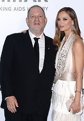 Harvey Weinstein and stylist Georgina Chapman attending amfAR's 23rd Cinema Against AIDS Gala during The 69th Annual Cannes Film Festival on May 19, 2016 in Cap d'Antibes, France. Photo by Lionel Hahn/ABACAPRESS.COM  | 547724_061 Cannes France