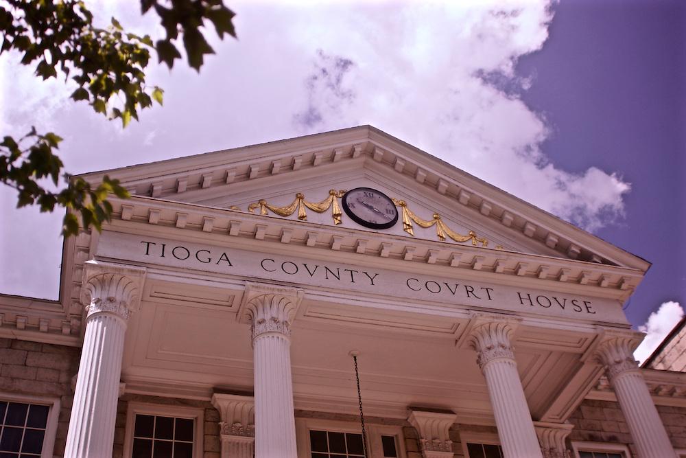 Northcentral Pennsylvania, Tioga County Courthouse, Wellsboro