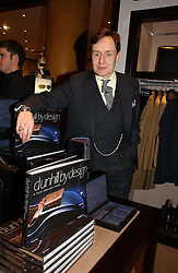 NICK FOULKES at the launch of Dunhill by Design by Nick Foulkes held at Alfred Dunhill, 48 Jermyn Street, London on 24th October 2006.<br /><br />NON EXCLUSIVE - WORLD RIGHTS