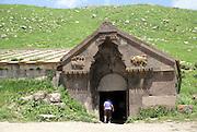 Armenia, Selim Pass, Caravanserai, an inn on the silk road