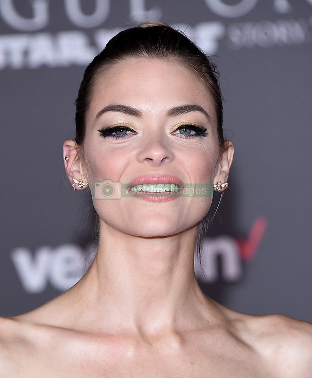 December 10, 2016 - Hollywood, California, U.S. - JAIME KING, actress and model arrives for the premiere of the film 'Rogue One: A Star Wars Story' at the Pantages theater. (Credit Image: © Lisa O'Connor via ZUMA Wire)