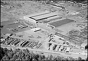 """Ackroyd 08383-2 """"June 16, 1958"""" (center of image is NW 35th Ave. Soule Steel Co. 2630 NW St. Helens Rd.)"""