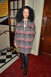 KANYA KING at Beautiful - The Carole King Musical 1st Birthday celebration evening at The Aldwych Theatre, London on 23rd February 2016.