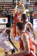 DESCRIZIONE : Roma Lega serie A 2013/14 Acea Virtus Roma Grissin Bon Reggio Emilia<br /> GIOCATORE : Kaukenas Rimantas<br /> CATEGORIA : tiro tre punti <br /> SQUADRA : Grissin Bon Reggio Emilia<br /> EVENTO : Campionato Lega Serie A 2013-2014<br /> GARA : Acea Virtus Roma Grissin Bon Reggio Emilia<br /> DATA : 22/12/2013<br /> SPORT : Pallacanestro<br /> AUTORE : Agenzia Ciamillo-Castoria/ManoloGreco<br /> Galleria : Lega Seria A 2013-2014<br /> Fotonotizia : Roma Lega serie A 2013/14 Acea Virtus Roma Grissin Bon Reggio Emilia<br /> Predefinita :