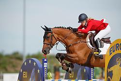 Hazebroek Maxime, BEL, Jartelle vd Thijshoeve<br /> Children European Championships Jumping <br /> Samorin 2017© Hippo Foto - Dirk Caremans<br /> 12/08/2017