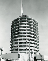 1957 Capitol Records Tower on Vine St.