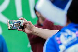 Chelsea fans take a selfie at Stamford bridge - Mandatory by-line: Jason Brown/JMP - 16/09/2016 - FOOTBALL - Stamford Bridge - London, England - Chelsea v Liverpool - Premier League