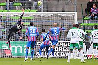 Remy VERCOUTRE - 01.02.2015 - Caen / Saint Etienne - 23eme journee de Ligue 1 -<br />Photo : Vincent Michel / Icon Sport