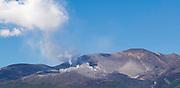 Mount Tongariro, a volcano within Tongariro National Park, North Island, New Zealand.